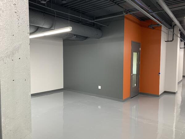 Reception Area Leading To Classroom