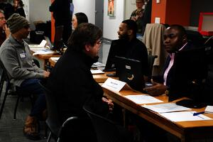 Gradates Meet with Employers
