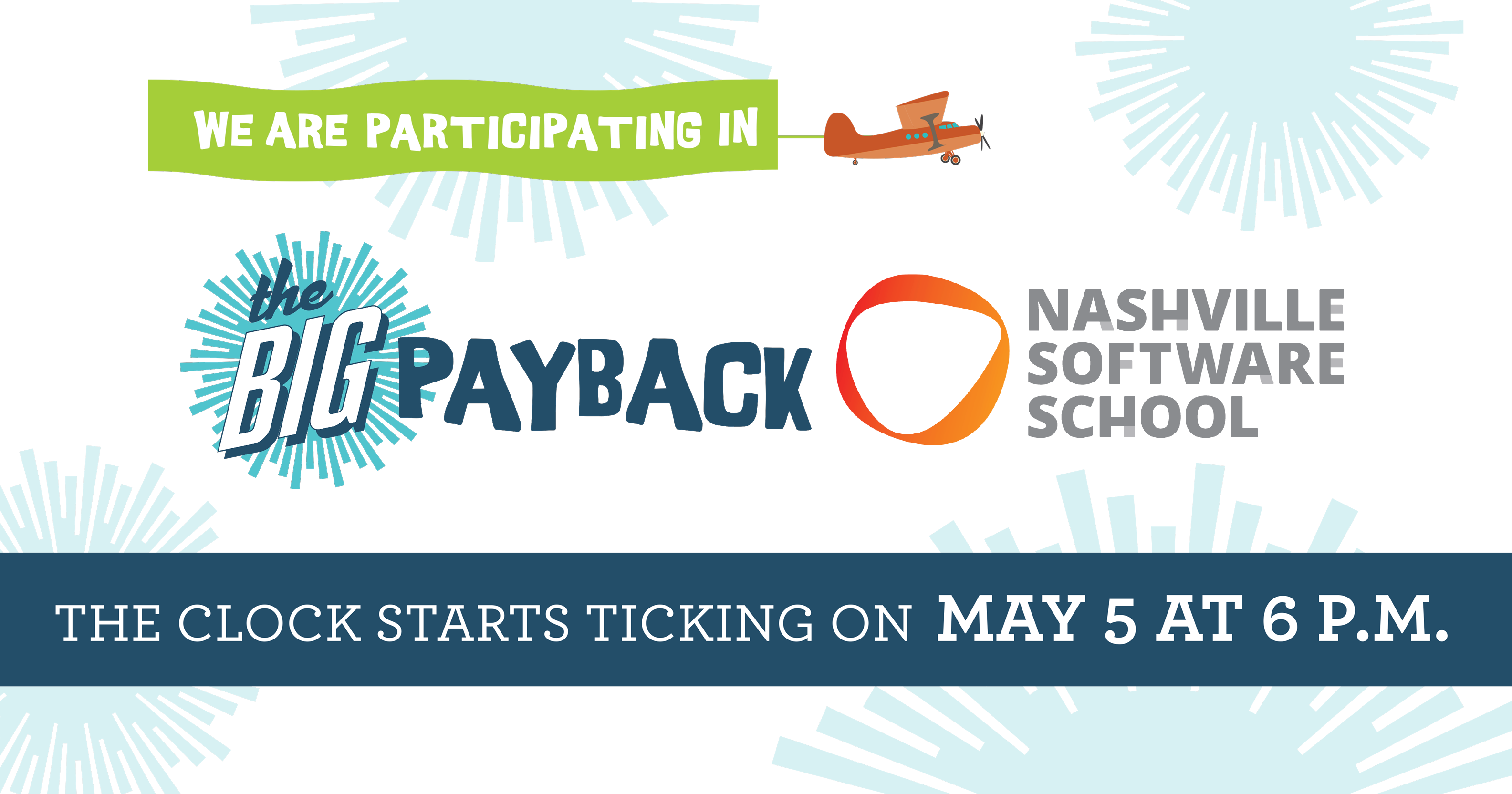 NSS is participating in The Big Payback on May 5-6