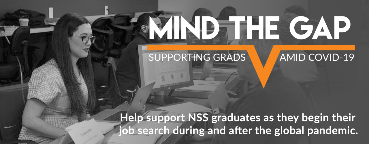 Mind The Gap - Help support NSS graduates amid COVID-19